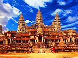 厦门到柬埔寨旅游【2-3月吴哥+金边双飞5日】厦航直飞