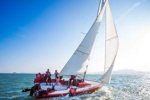 厦门国旅 环岛路海通联帆船出海+海上看金门预订