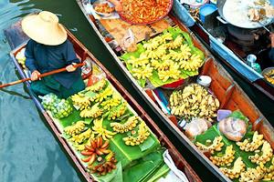 厦门到泰国旅游【10月泰享趣】曼芭+安帕瓦水上市场六日游