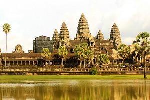 厦门到柬埔寨旅游【4-6金色吴哥深度5日游】厦门包机直飞