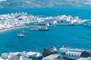 欧洲希腊旅游【9月希腊一地10天】升级两晚悬崖酒店