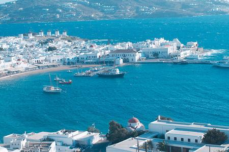 欧洲希腊旅游【希腊一地10天深度游】升级两晚悬崖酒店