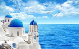 【初一】厦门到希腊一地浪漫深度10日游_厦门国旅