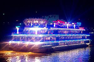 |朝天门号|重庆两江夜景游船_乘船看夜景游长江_江陵江