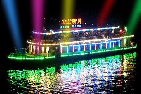 |满江红号|重庆两江夜景游_乘船看夜景游长江_江陵江