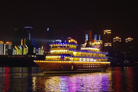 |重庆两江夜景游|金碧女王号夜景游船_夜景两江游船票预订