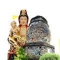 桂林象鼻山佛教文化-普贤塔与普贤菩萨的传说故事