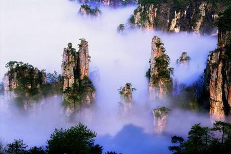 厦航国旅_湖南长沙张家界世界第一玻双飞五日/六日双飞奢华纯净