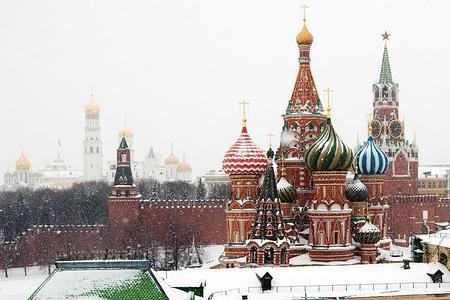 银川出发去俄罗斯双首都+金银环+伏尔加河8日游