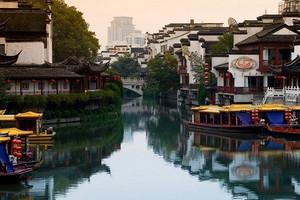 华东五市+三水乡+迪士尼小镇双飞6日游