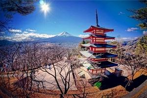 日本本州全景温泉美食豪华舒适六日游