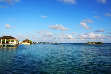 【马尔代夫-蓝色美人蕉自由行4晚6天】一价全含