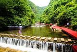 马山水锦大峡谷,中国弄拉,小都百山水之旅一日游