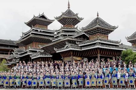 3月柳州三江程阳风雨桥,侗乡鸟巢坐妹表演,丹州古镇纯玩2日