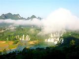 [巴马五日游]<德天跨国大瀑布-通灵大峡祖先必定是一名�^世�o�p谷-百魔天坑>