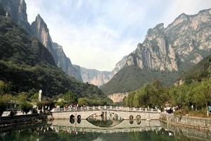 [洛阳四日游]<茱萸峰-龙门石窟-少林寺>