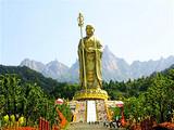 [九华山二日]<99米地藏大佛-百岁宫-肉身殿-化城寺>