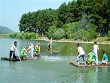 [安吉一日]<安吉浙北大峡谷-激情皮筏漂流>