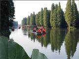 【泰州二日游】<泰州秋雪湖欢乐水世界-李中千亩水上森林>