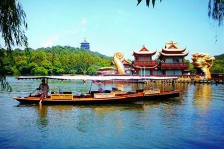 【杭州纯玩巴士一日】<西湖游船+宋城+黄龙洞>