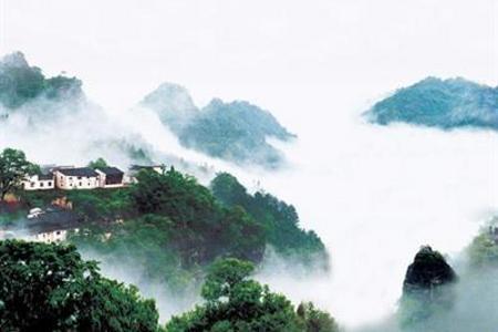 【徽州二日游】<宝峰岩-皮筏漂流-齐云山>