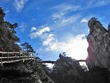 [大别山三日]<龙津大峡谷风景区-玻璃栈道-五联瀑布>