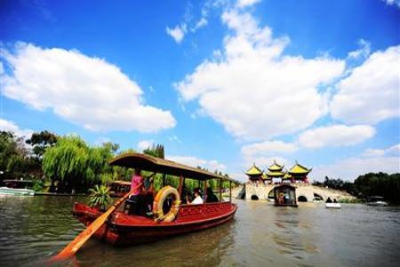 [杭州二日]西塘古镇+西溪湿地+钱塘新景+杭州西湖+花港观鱼