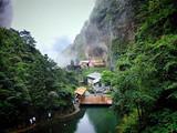 [雁荡山三日]大龙湫-小龙湫-灵峰日景-灵峰夜景-龙穿大瀑布