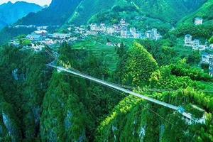 [安吉+临安三日]5D悬空玻璃吊桥-大明山-太湖源-中南百草