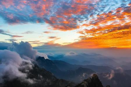[梦幻黄山]黄山西海大峡谷、高空玻璃桥、梦幻黄山、卡巴乐谷