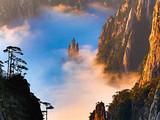 黄山观日-高空玻璃桥-卡巴乐谷-徽韵演出 豪华纯玩三日游