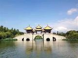 [扬→州二日游]扬州瘦西看着火镜湖-二十四桥-闲逛易水寒东关街-高�F寺