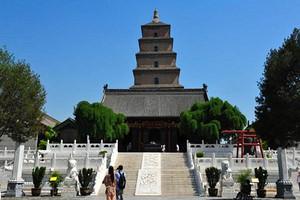 双飞6天西安、兵马俑、骊山华清宫、黄帝陵、壶口瀑布