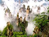 张家界、森林公园、天门山(玻璃栈道)、大峡谷世界第一玻璃桥
