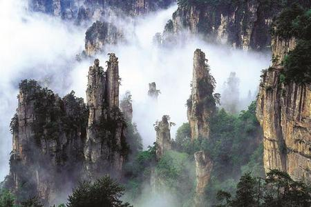 湖南长沙、韶山、张家界、森林公园、天门山 5日