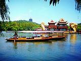 【三潭印月上岛】杭州西湖-西溪湿地