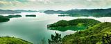 河源二日游D线,桂山+镜花缘/万绿湖+叶园温泉+巴伐利亚