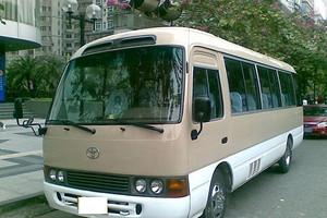 深圳出发广东省内旅游两天包车费用(22座中巴车)
