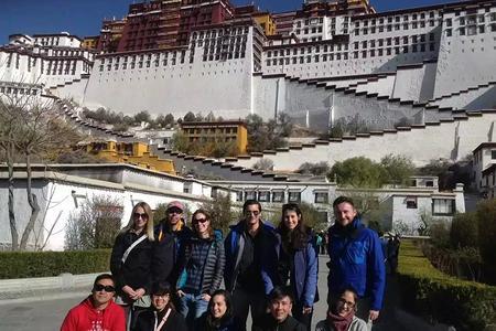 台湾人去西藏-林芝-拉萨-江孜-日喀则--纳木错8日游
