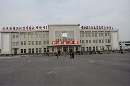 朝鲜新义州登岸游