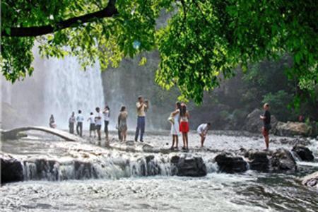 丹东鸭绿江游船、天罡山、飞瀑涧2日游