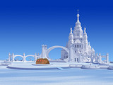 哈尔滨冰雪大世界、俄罗斯小镇、科技馆、松花江冰上活动2日