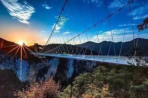 【精品张家界】森林公园、云天渡玻璃桥、天门山、凤凰古城5日游
