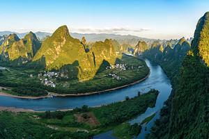 【桂林山水甲天下】桂林古东瀑布、漓江、银子岩、龙脊梯田6日游