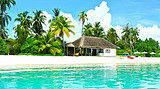 【高尔夫之旅】马尔代夫 香格里拉度假酒店6天自由行
