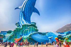长隆欢乐世界+野生动物世界+海洋王国4 日游