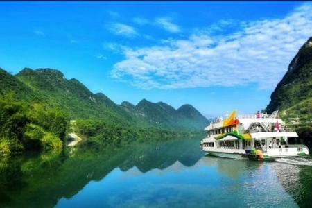 大化红水河游船、达哞小镇、 果园采摘一日游