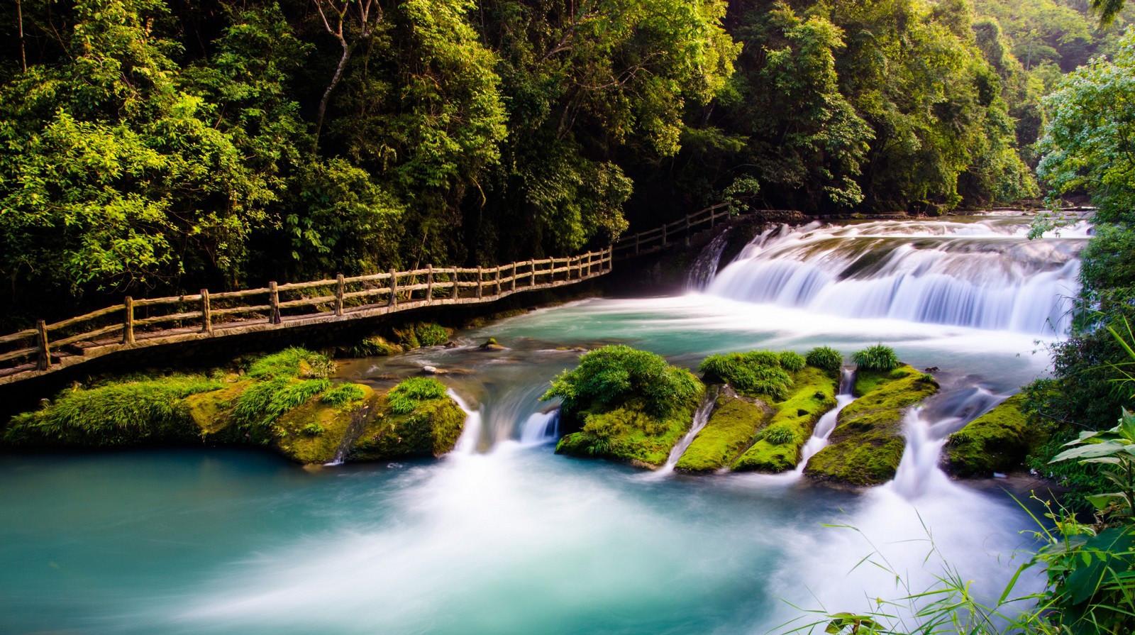 小七孔水上森林图分享展示图片