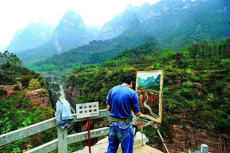 徐州到河南万仙山郭亮村二日游丨潘长江《举起手来》拍摄地