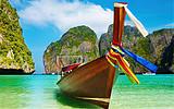 泰国普吉岛水上威尼斯+大小P岛双体帆船奥曼珍珠岛联排别墅7天